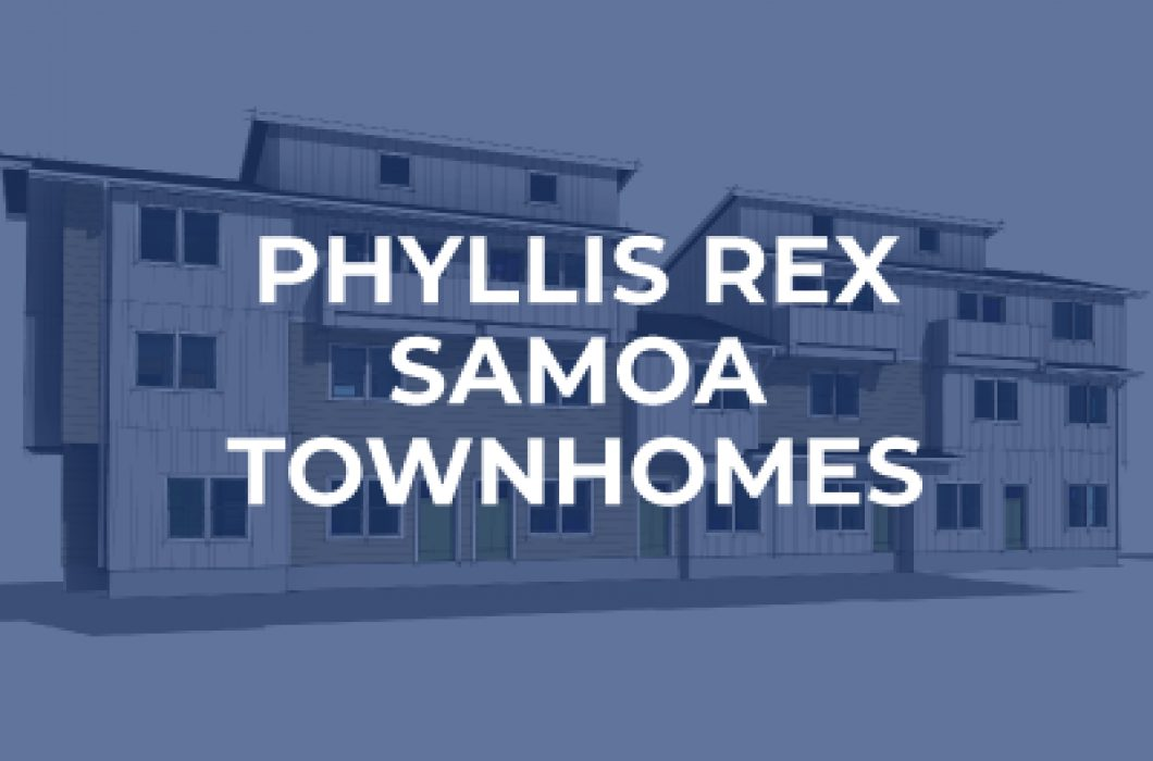 Phyllis rex samoa townhomes affordable multi family housing