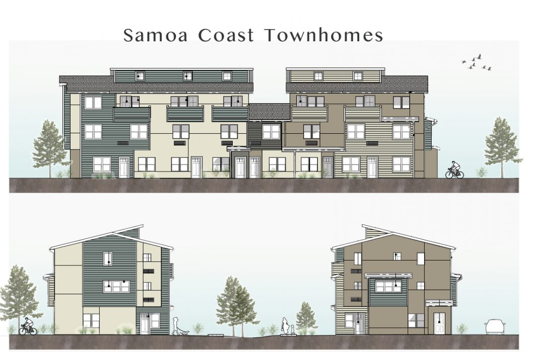 Phyllis Rex Samoa Towhnhomes Affordable Family Housing Danco Communities